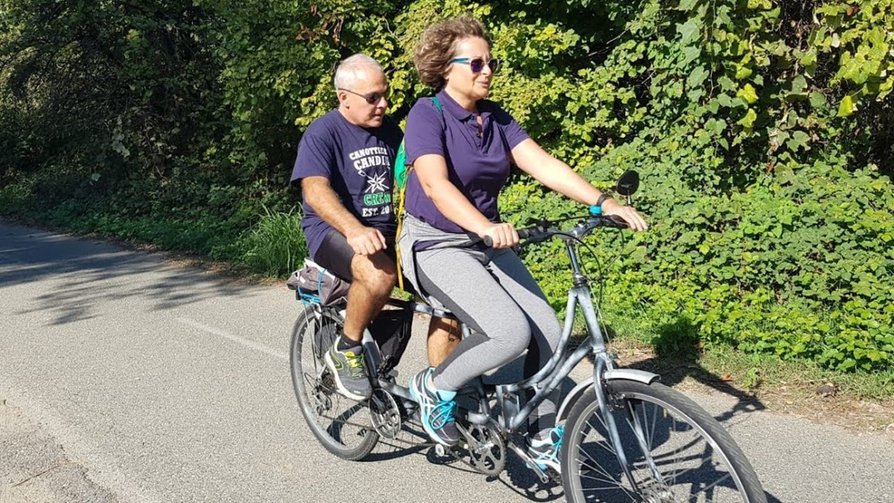Sangon Blues e In tandem con UIC bici &Dintorni