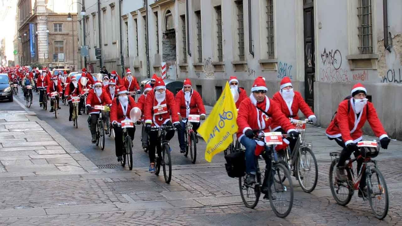 Un Babbo Natale in bici… un Babbo Natale in FORMA bici &Dintorni