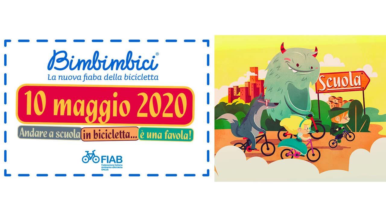 Bimbimbici 2020 - Andare a scuola in bicicletta… è una favola! bici &Dintorni