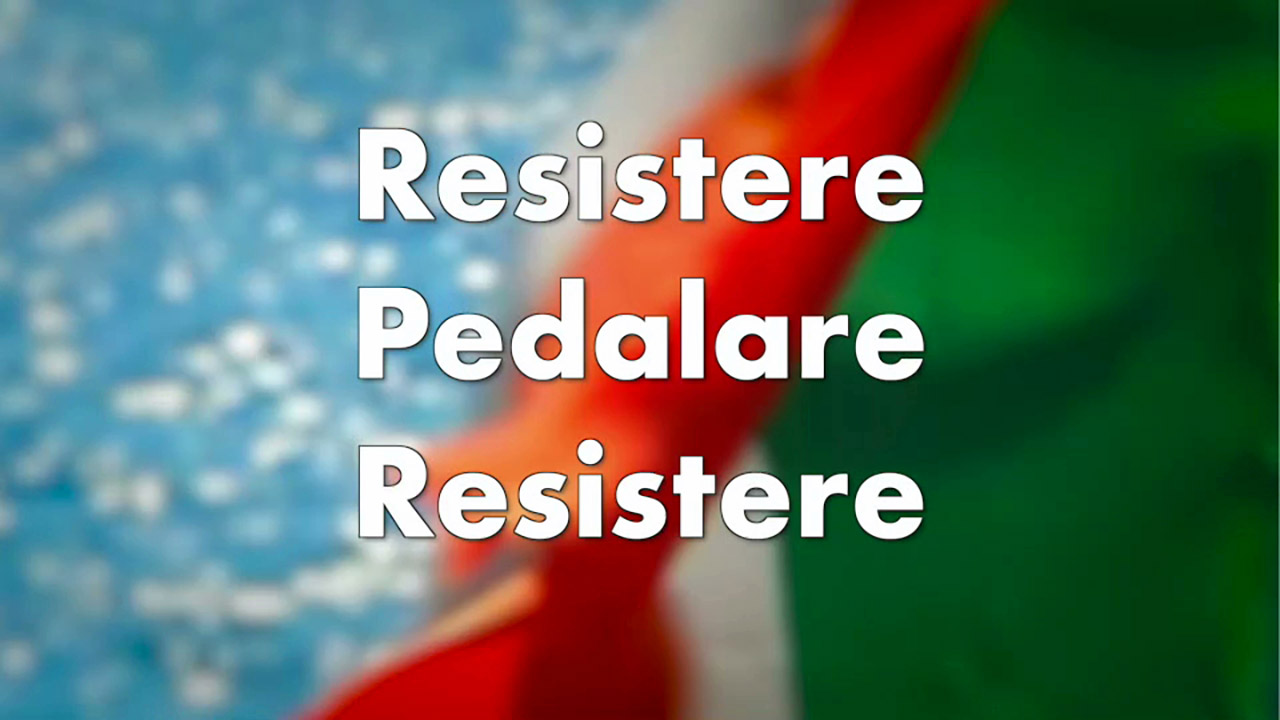 Resistere, pedalare, resistere. Festa della Liberazione bici &Dintorni