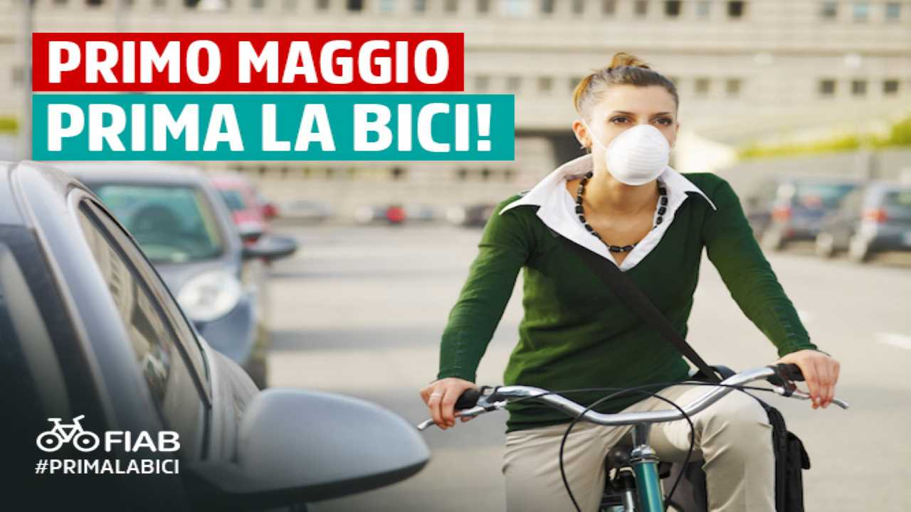 #PRIMALABICI: la nuova campagna FIAB per la Fase2 bici &Dintorni