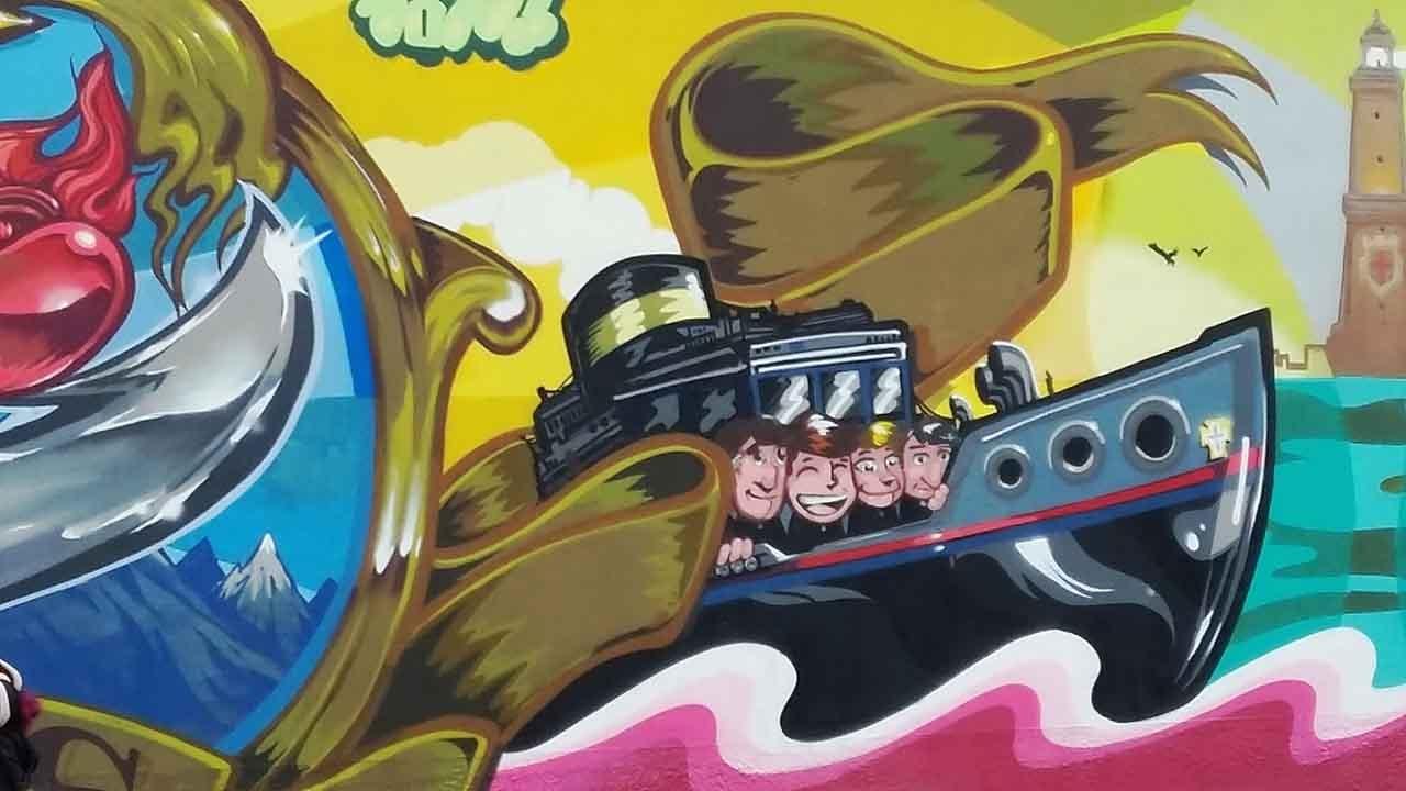 Street Art Campus Dora bici &Dintorni