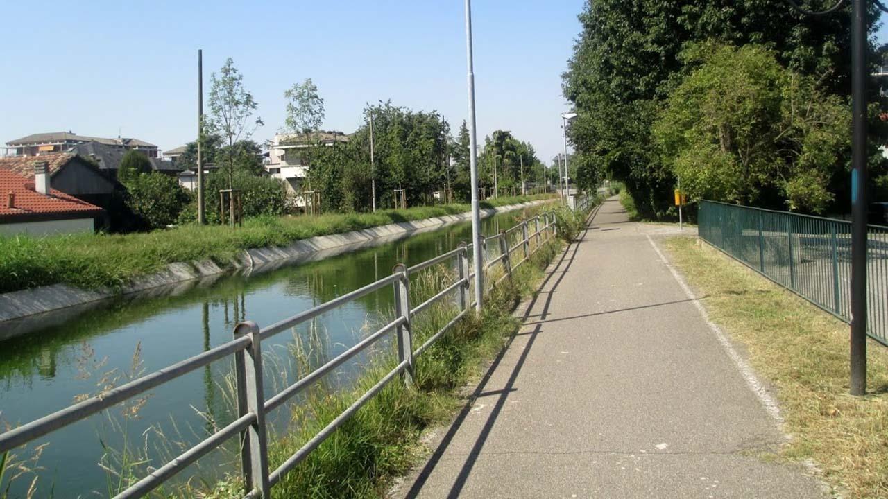 Ciclovie d' acqua per una mobilità sostenibile bici &Dintorni