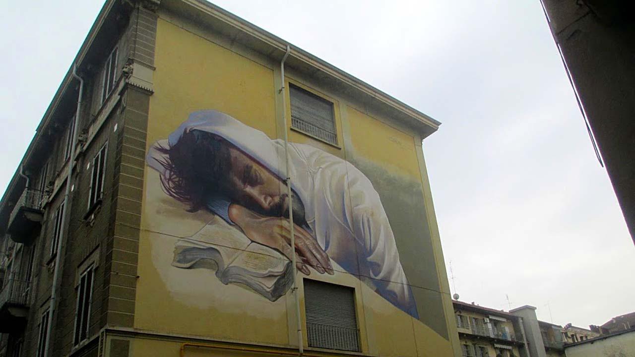 Street art San Salvario bici &Dintorni