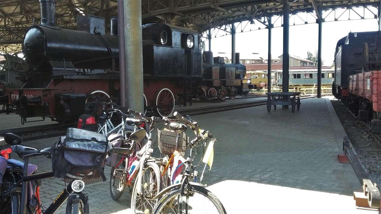 Museo ferroviario di Savigliano bici &Dintorni
