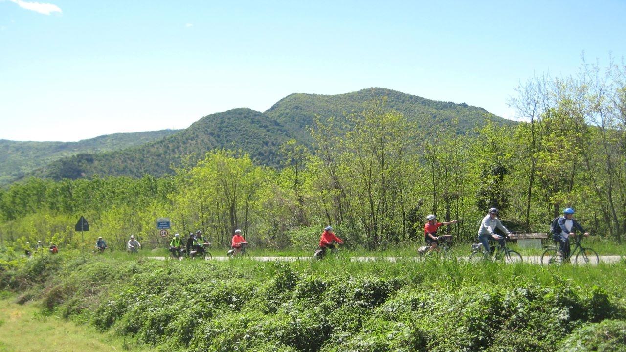 La primavera sul Sangone bici &Dintorni