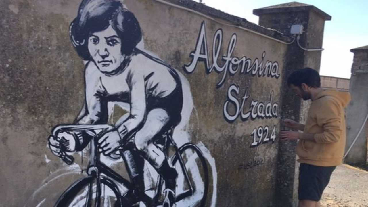 Alfonsina Strada a Binaria bici &Dintorni