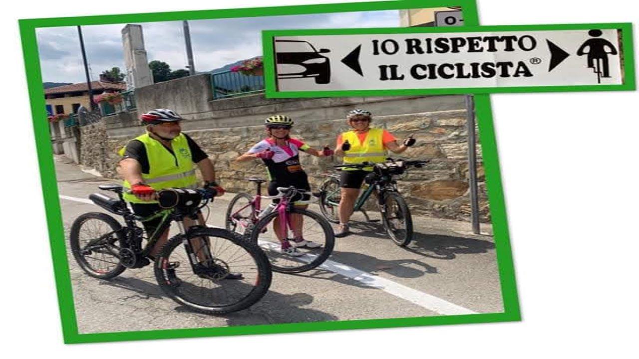 #IOrispettoilciclista bici &Dintorni