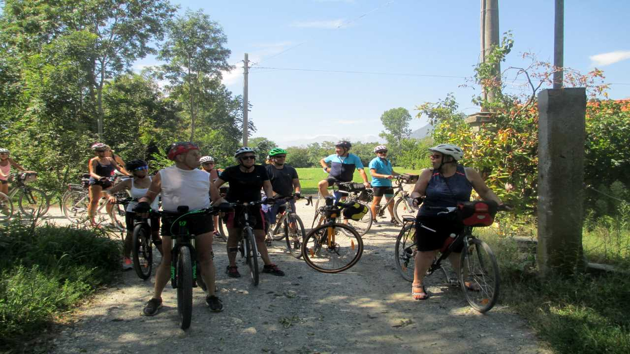 Al km 51 di AIDA bici &Dintorni