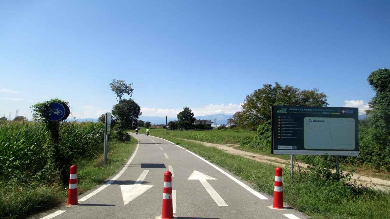 La ex ferrovia da Airasca a Moretta bici &Dintorni