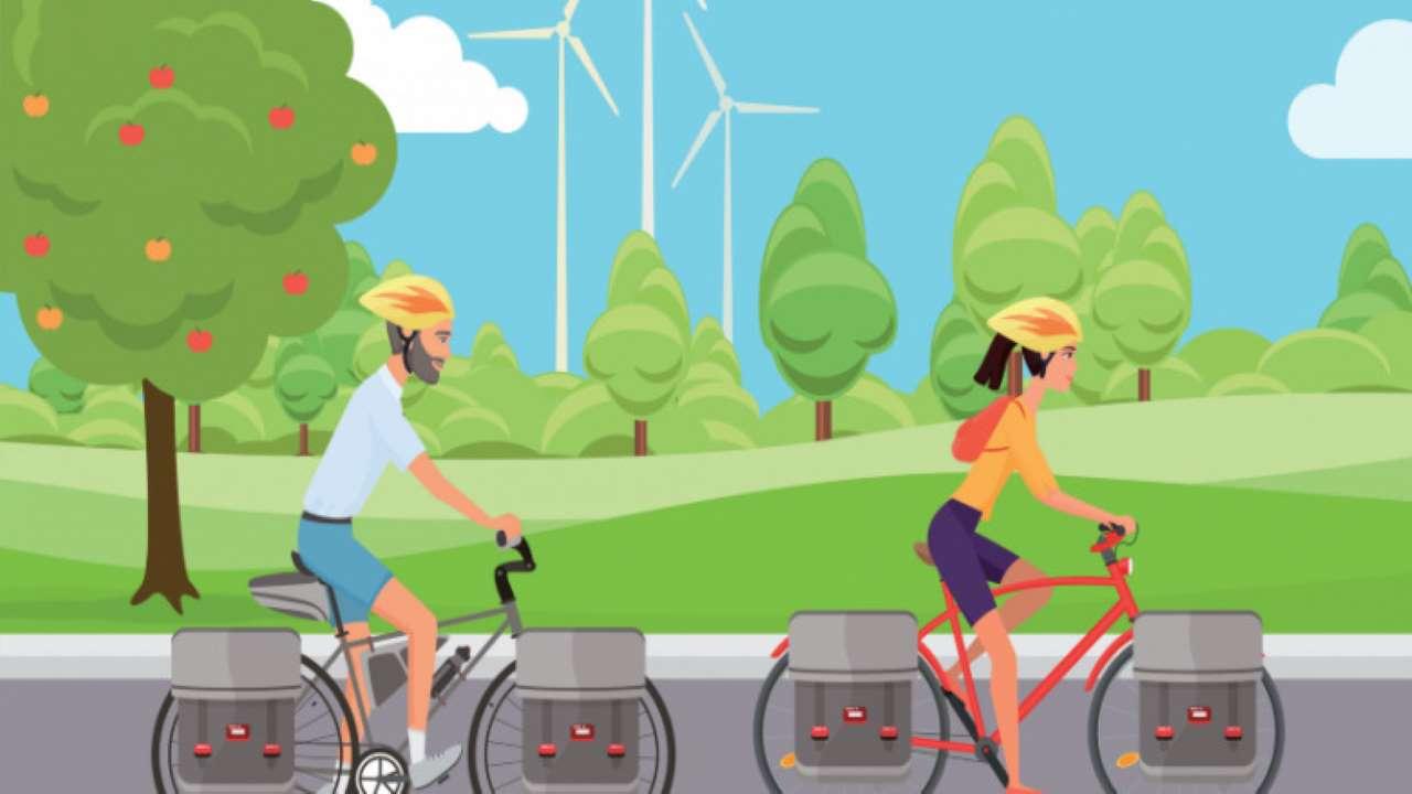Uscite in bici in fascia rossa-arancione o gialla bici &Dintorni