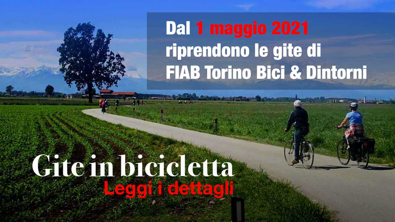 Buone notizie. Le gite ripartono bici &Dintorni