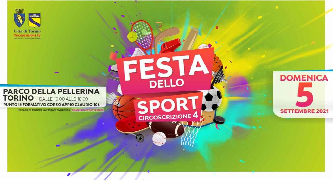 Festa dello Sport Torino Circoscrizione 4 - Parco della Pellerina Torino dalle 10,00 alle 18,00 bici &Dintorni
