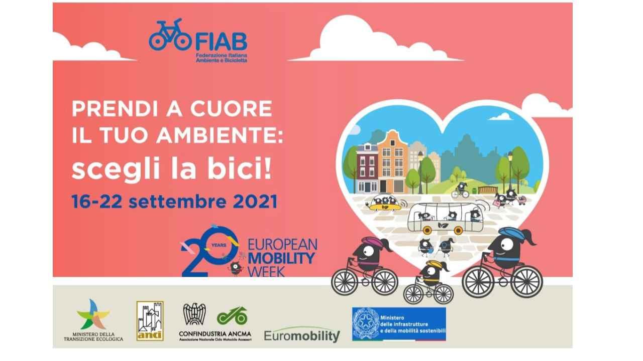 Settimana Europea Mobilità Sostenibile 2021 bici &Dintorni